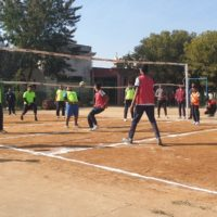 Inter house Volleyball Match