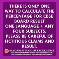 CBSE Results Fact