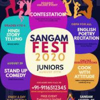 Sangam Fest 2020 – JUNIORS 29th August