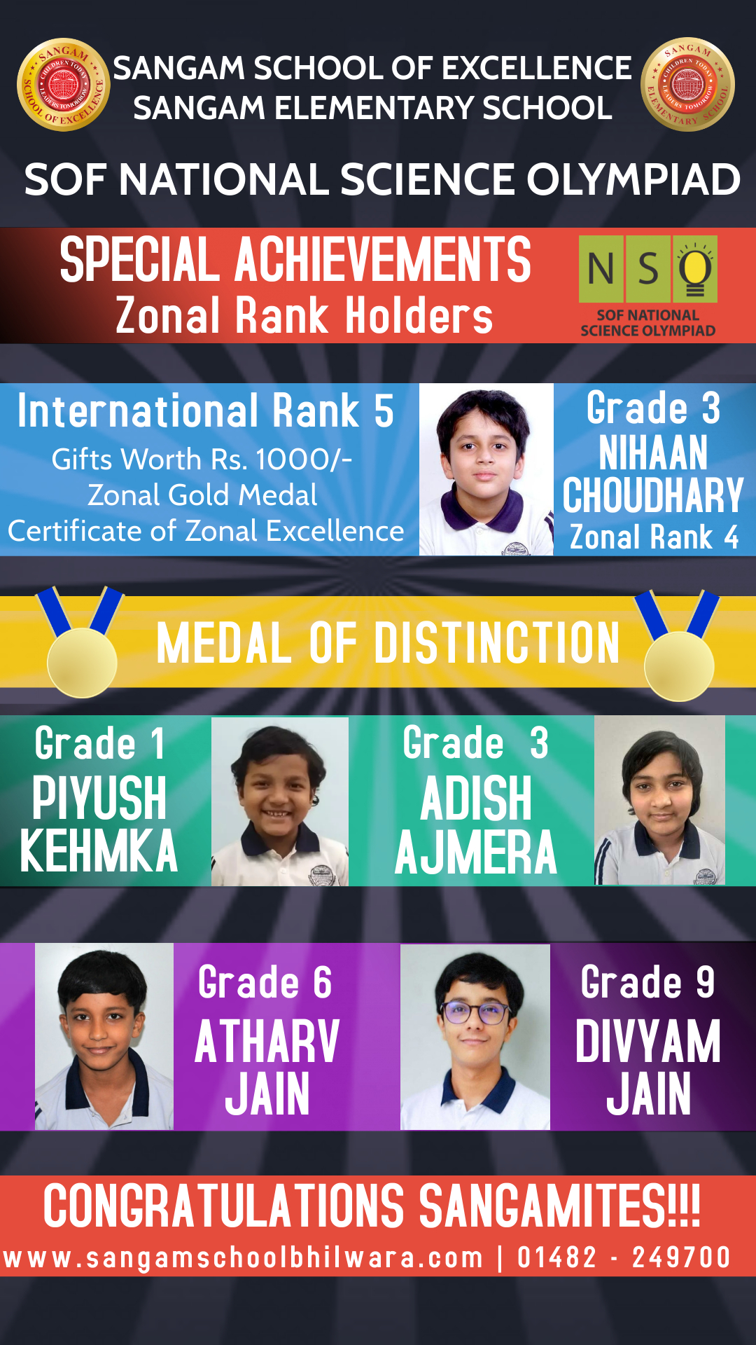 SOF National Science Olympiad Results Announced…