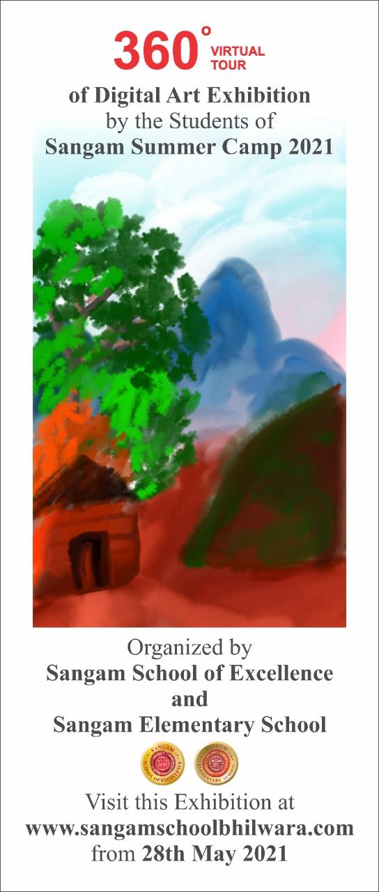 360 Degree Virtual Art Gallery- Summer Camp 2021