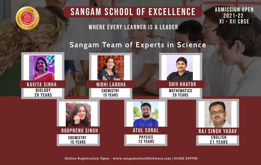 Sangam Experts in Science