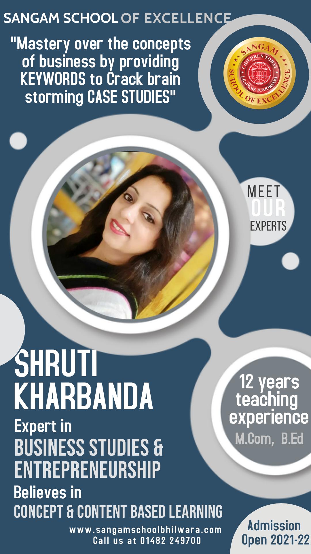 Ms Shruti Kharbanda