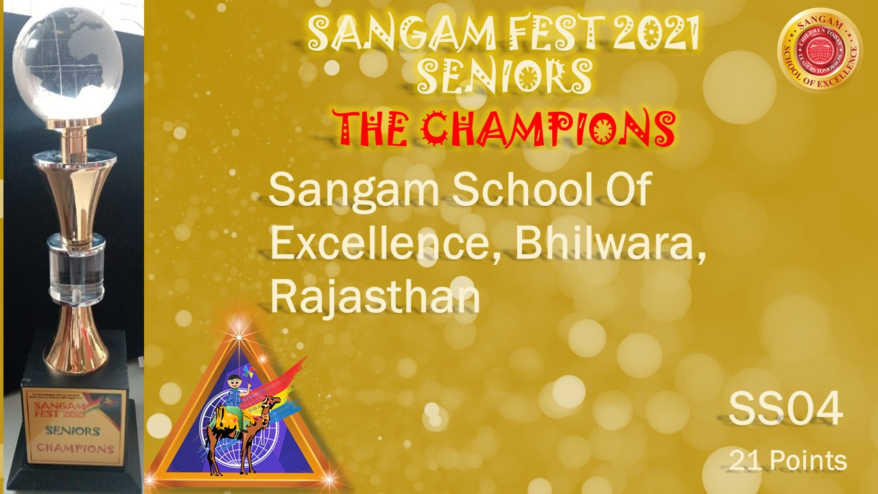 Sangam Fest Seniors 2021 Results –
