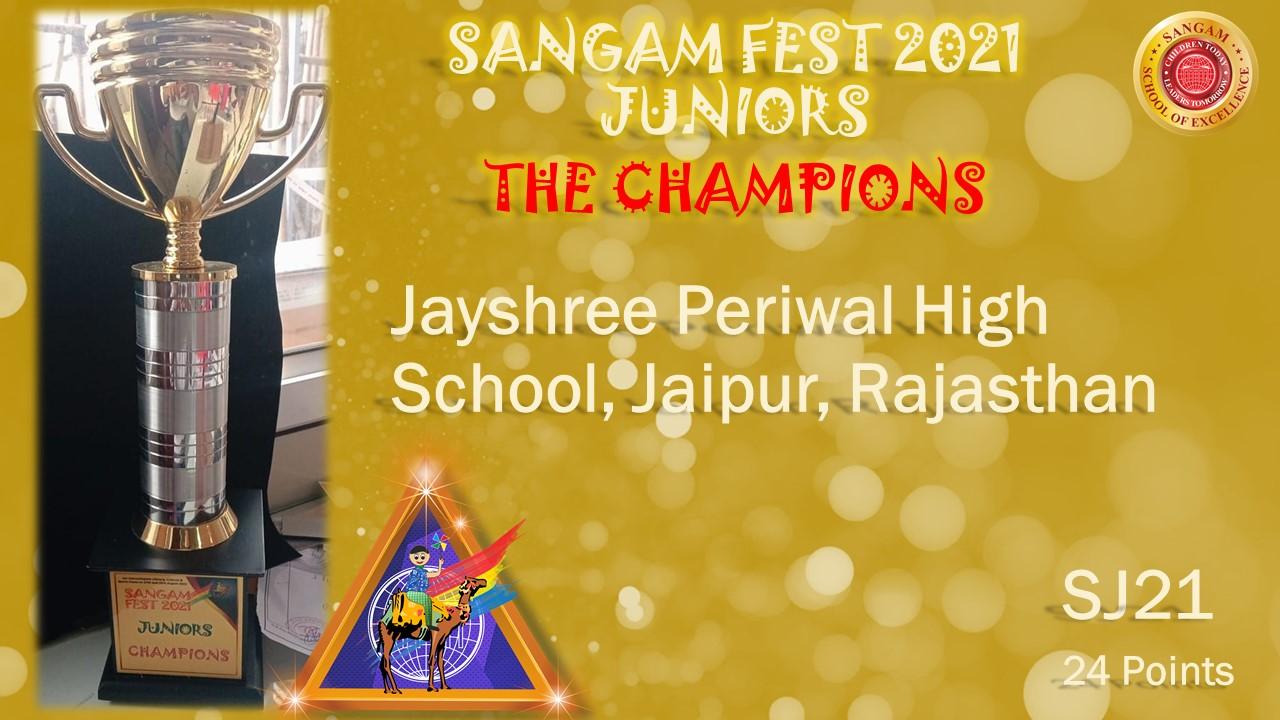 Sangam Fest Juniors 2021 – Results